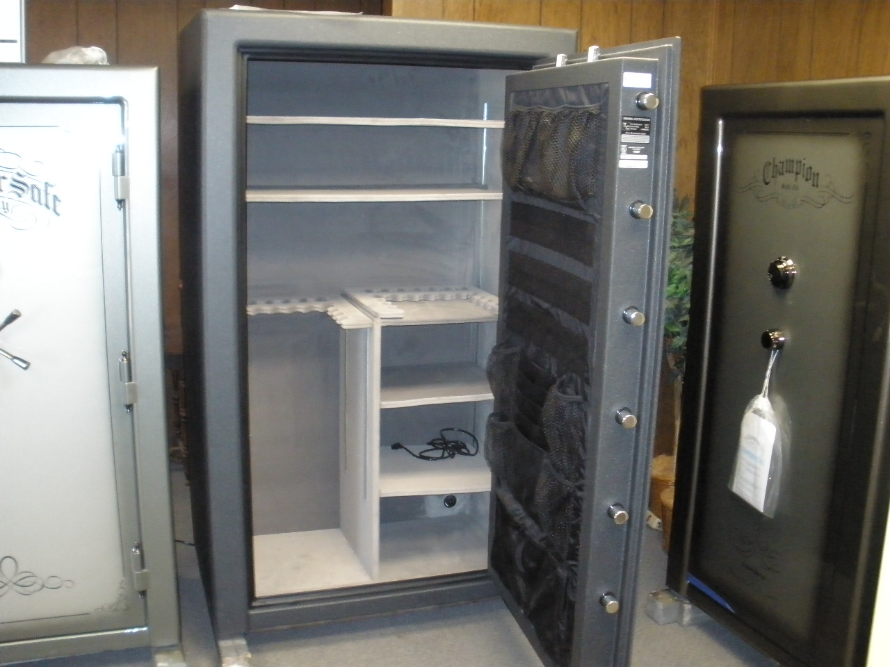 safes cannon armory at organizer doors door gun ts series safe kit product index